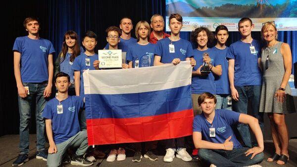 Российские школьники Центра развития робототехники завоевали серебро на 18-м Международном соревновании по телеуправляемым необитаемым подводным аппаратам International MATE ROV Competition