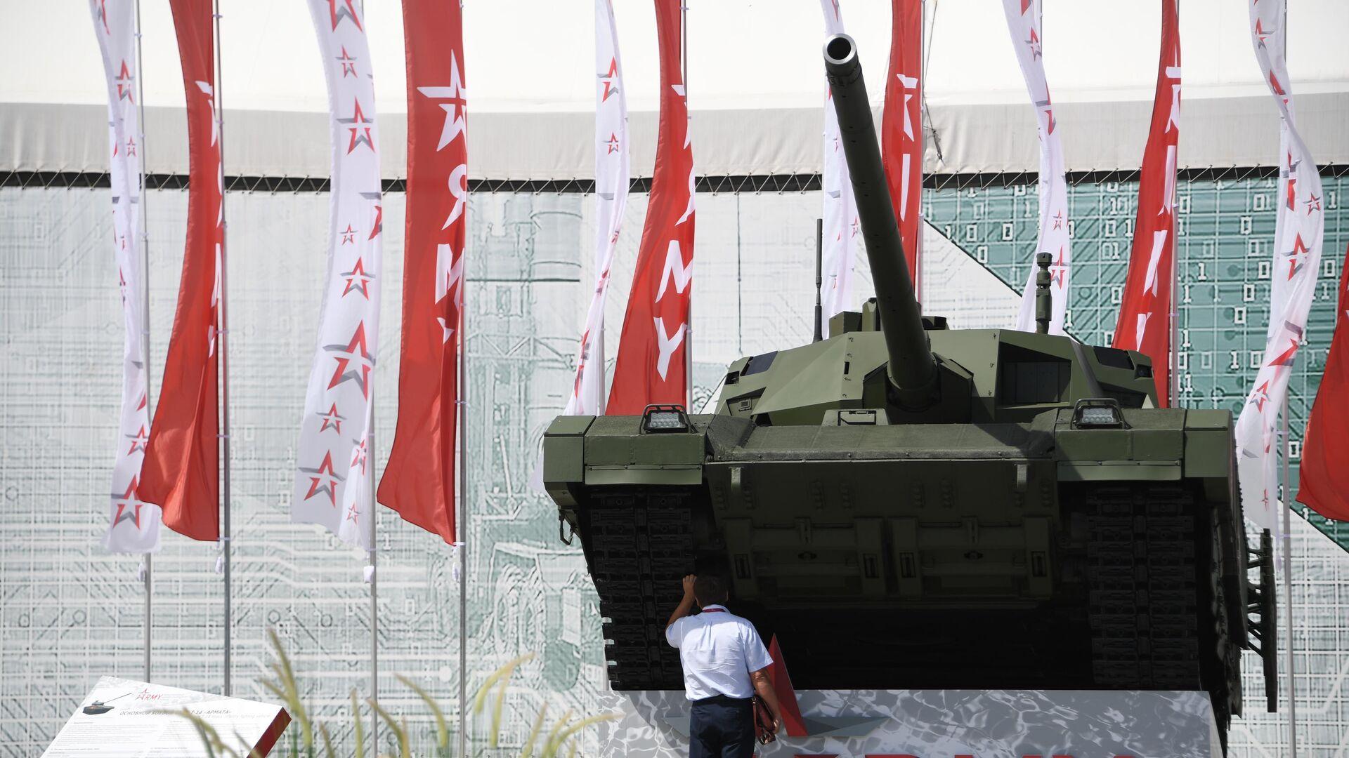 Танк Т-14 Армата на Международном военно-техническом форуме Армия-2019 - РИА Новости, 1920, 04.07.2020