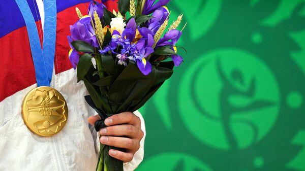 Золотая медаль российского спортсмена на II Европейских играх в Минске