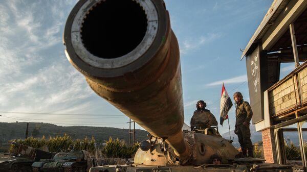 Военнослужащие Сирийской Арабской армии