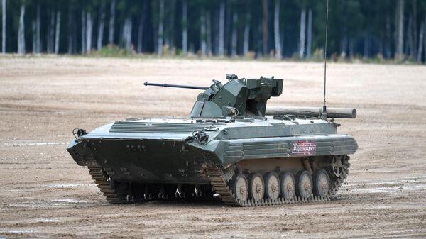 Боевая машина пехоты БМП-3 на Международном военно-техническом форуме Армия-2019