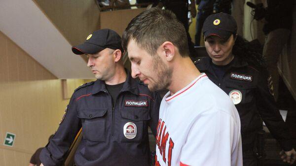 Мурат Сабанов в суде. 26 июня 2019