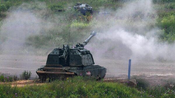 Самоходная артиллерийская установка САУ Мста-СМ