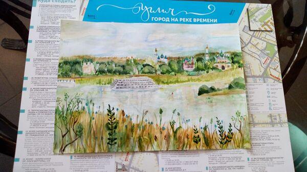 Рисунок десятилетней угличской художницы Алисы Капустиной