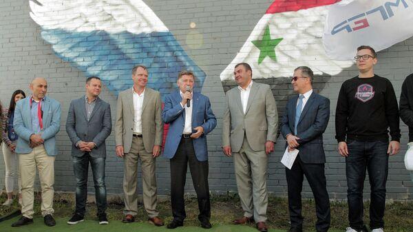 Председатель Законодательного Собрания Санкт-Петербурга Вячеслав Макаров принял участие в международном мероприятии, посвященном российско-сирийской дружбе
