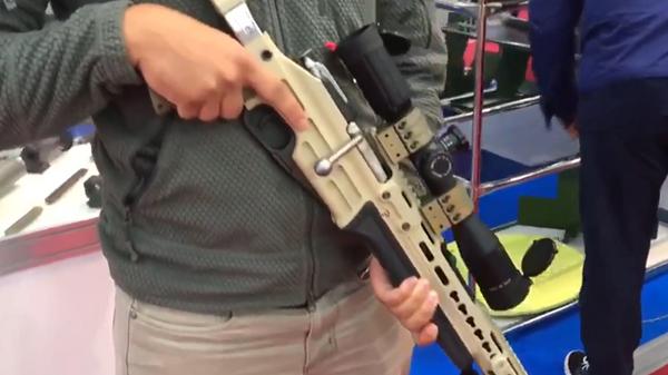 Усовершенствованная винтовка Мосина попала на видео
