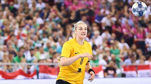 Анна Сень в финальном матче Лиги чемпионов