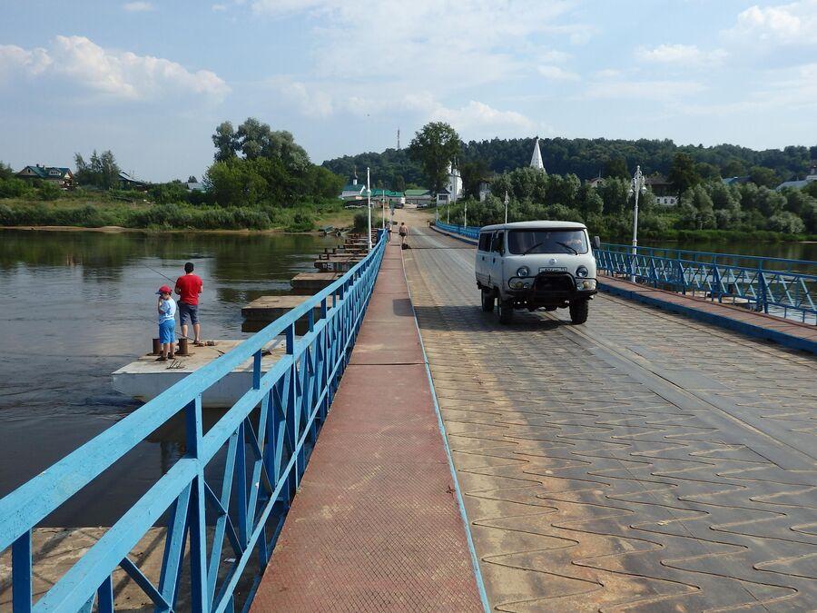 Мост через реку Клязьма, Гороховец