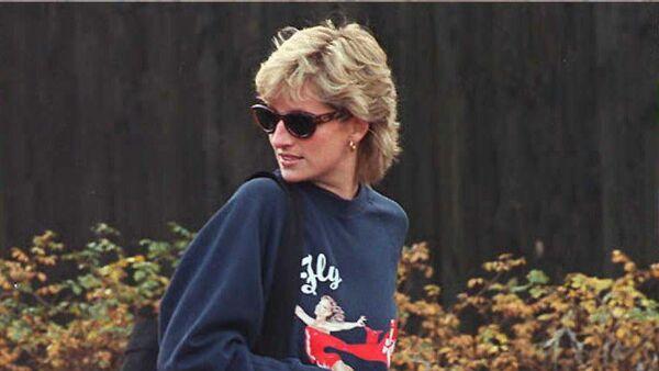 Принцесса Диана в ноябре 1995