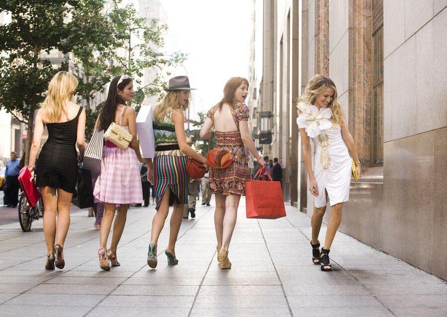 Кадр из сериала Секс в большом городе