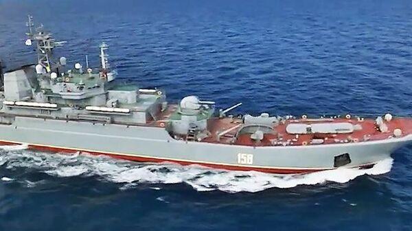 Облет акватории Черного моря в дни учения стран НАТО Sea Breeze-2019