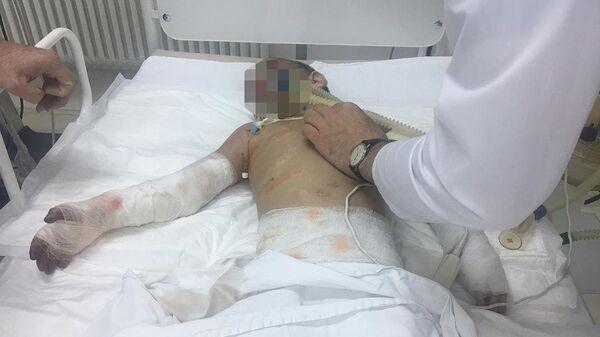 Девочка Аиша из Ингушетии после операции