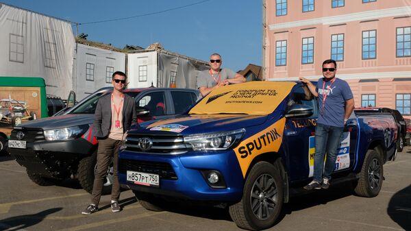 Команда радио Sputnik за день до старта ралли Шелковый путь-2019