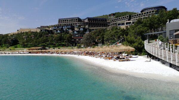Один из пляжей отеля Lujo Bodrum