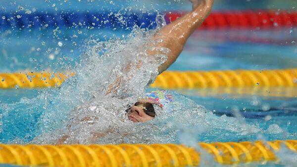 Плавание. Чемпионат России. Первый день