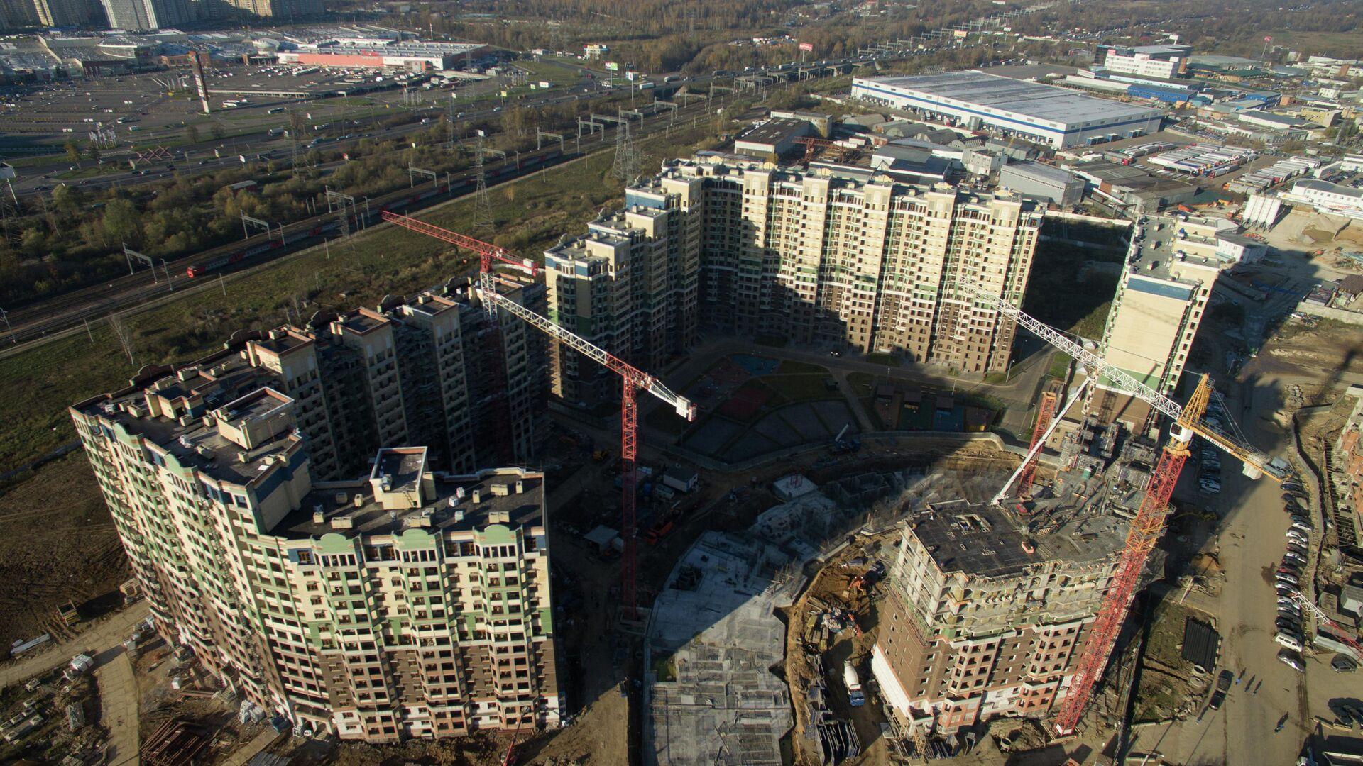 Строительство жилья - РИА Новости, 1920, 19.03.2021