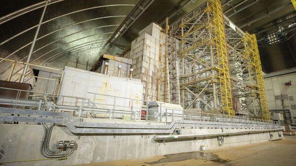 Новый саркофаг Чернобыльской АЭС