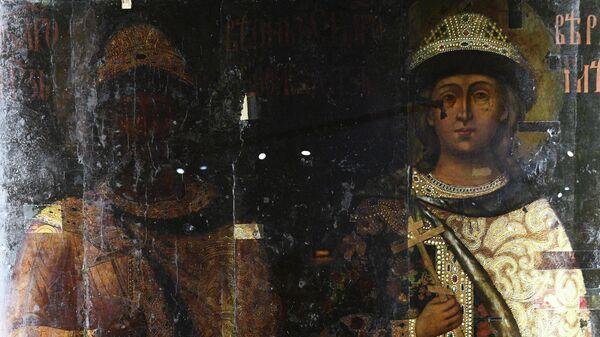 Выставка Хранители времени. Реставрация в Музеях Московского Кремля