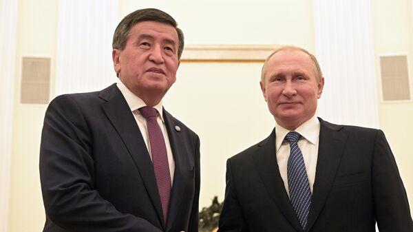 Путин в пятницу встретится с президентом Киргизии