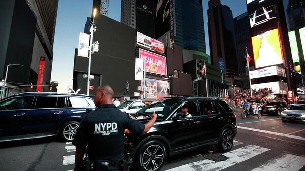 Отключение электричества в центре Нью-Йорка. 13 июля 2019