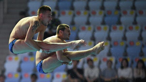 Александр Бондарь и Виктор Минибаев
