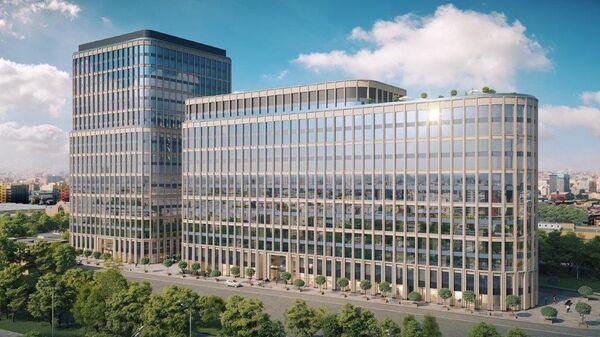 Проект офисного центра на улице Грузинский Вал в Москве