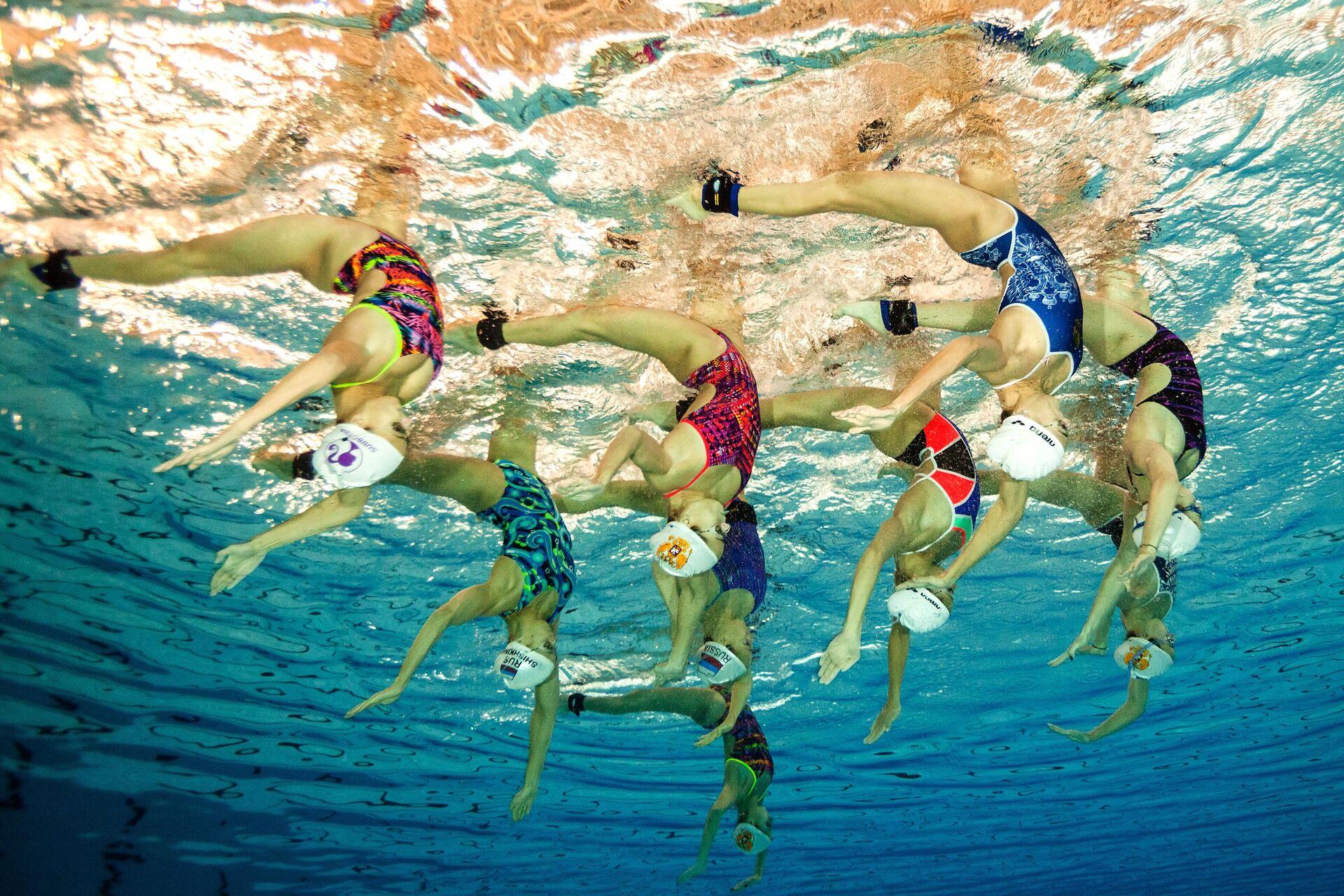 Сборная России по синхронному плаванию - РИА Новости, 1920, 09.05.2021