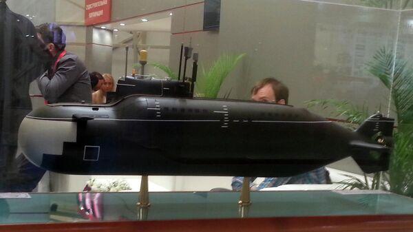 Модель подводной лодки проекта 865 Пиранья