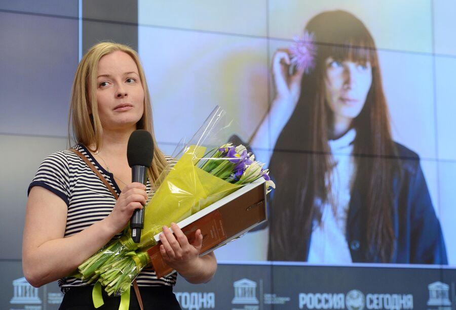 Обладатель Гран-при Международного конкурса фотожурналистики имени Андрея Стенина Елена Аносова