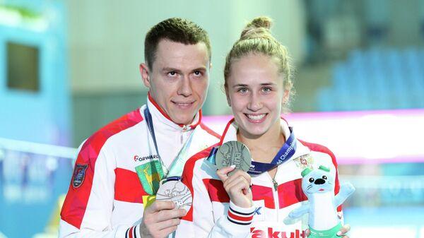 Сергей Назин и Юлия Тимошинина
