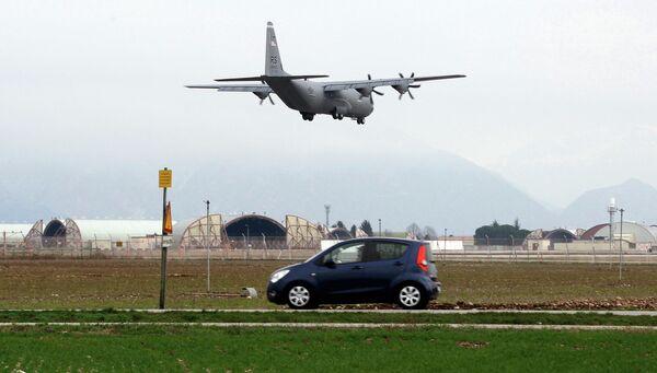 Авиабаза Aviano в Италии