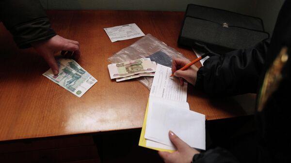 Рейд судебных приставов по выявлению должников в сфере ЖКХ