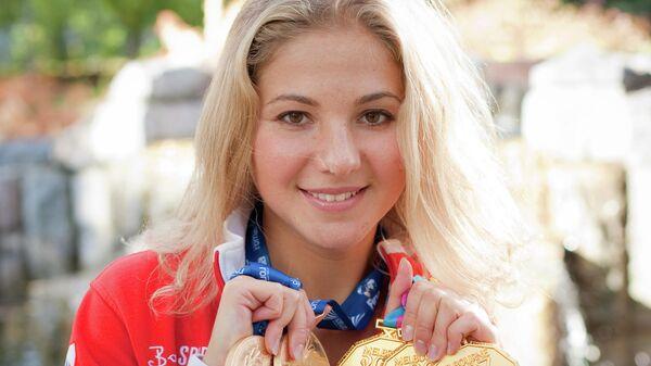 Пятикратная чемпионка мира по синхронному плаванию Анна Насекина