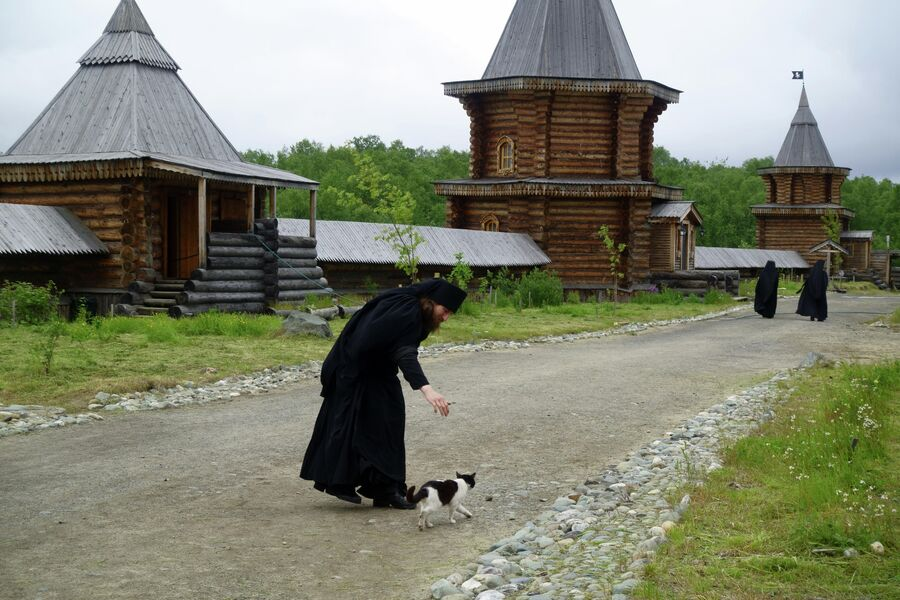 Кот Матрос и монах Гурий