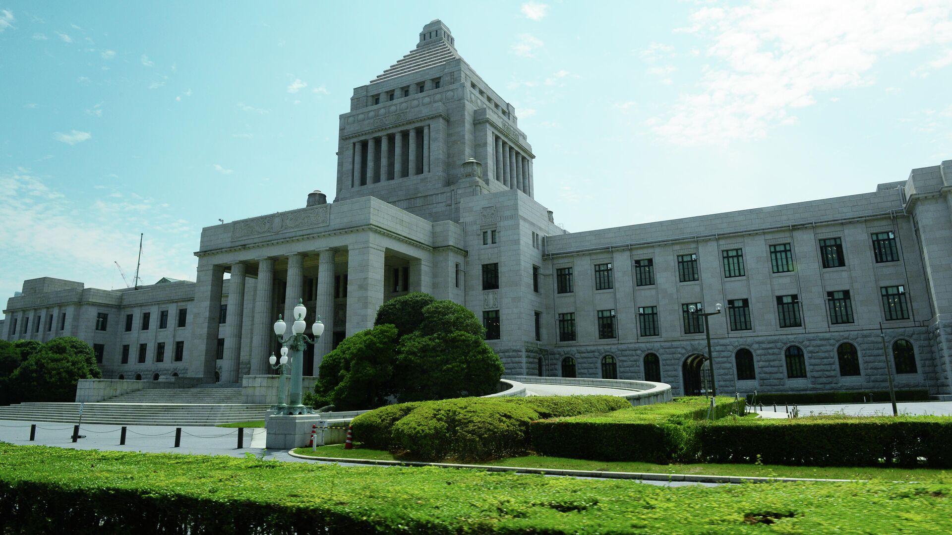 Здание Парламента Японии в Токио - РИА Новости, 1920, 08.07.2020