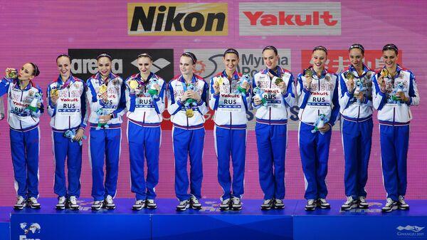 Синхронистки сборной России