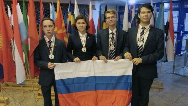 Российская сборная на 30-й Международной биологической олимпиаде для школьников