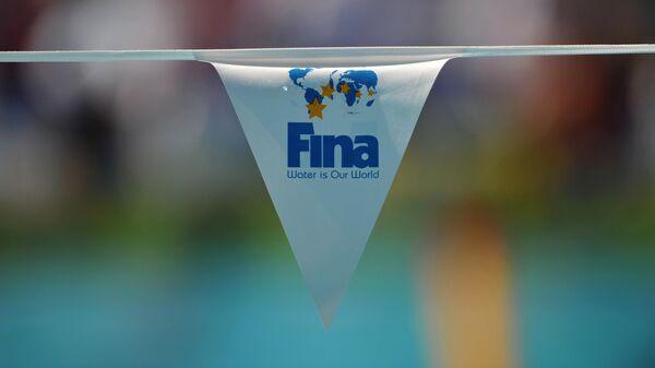 Логотип Международной федерации плавания (FINA)