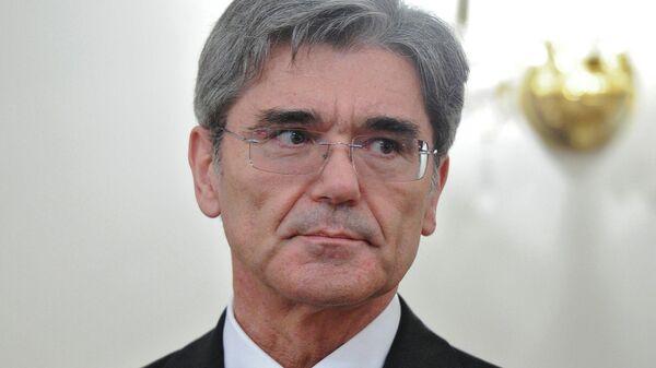 Президент и гендиректор компании Siemens Джо Кэзер
