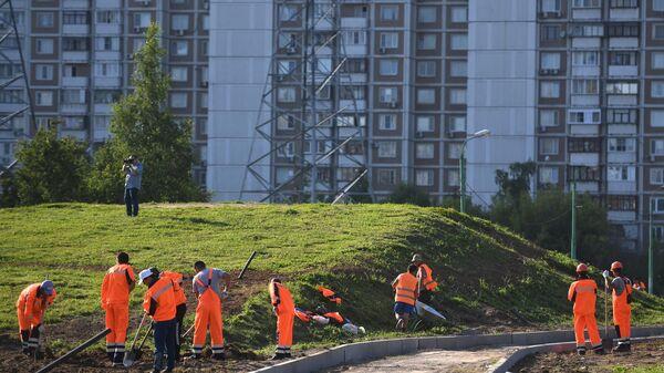 Мэр Москвы С. Собянин осмотрел парк 850-летия Москвы