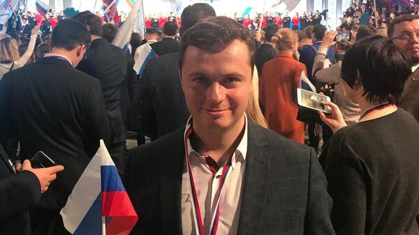 Замглавы Ассоциации развития кластеров и технопарков России Леонид Данилов