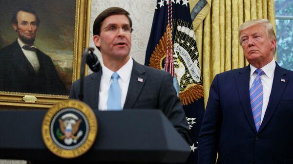 Новый министр обороны США Марк Эспер