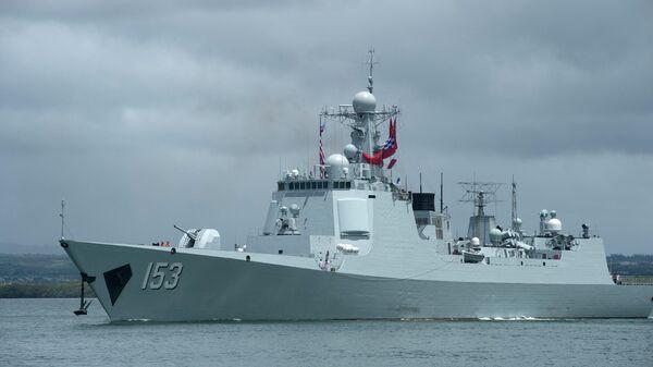 Ракетный эскадренный миноносец Военно-морских сил Народно-освободительной армии Китая Си Ань