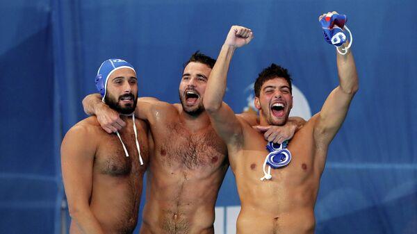 Мужская сборная Италии по водному поло стала вторым финалистом ЧМ