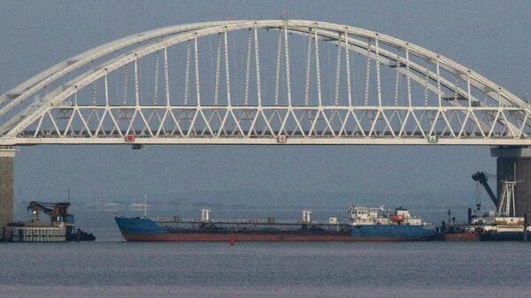 Танкер Neyma в Керченском проливе