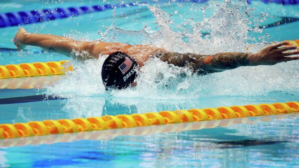 Американский пловец Калеб Дрессел