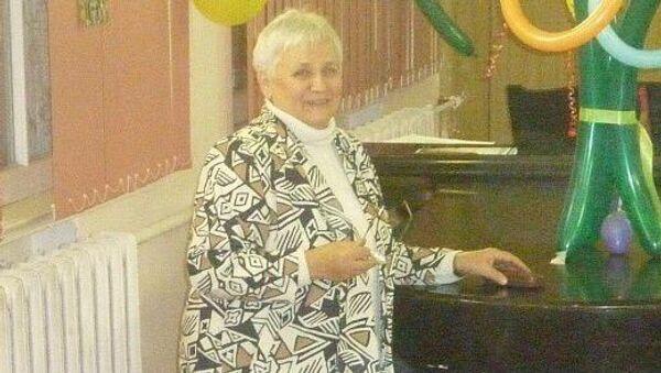 Заслуженная артистка России, бывший хормейстер Большого детского хора им. В.С. Попова Татьяна Анофриева
