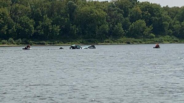 Падение легкомоторного самолета в Серпухове. 27 июля 2019