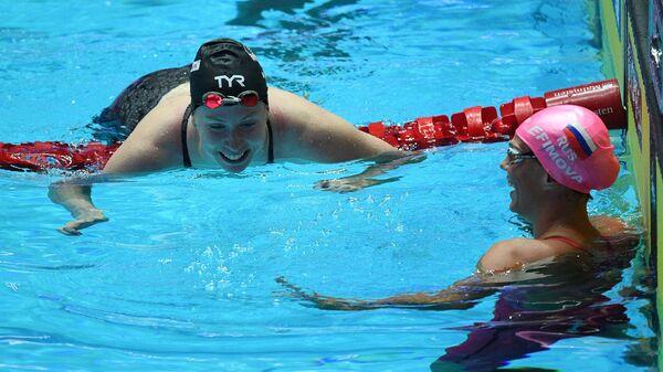Лилли Кинг (слева) и Юлия Ефимова