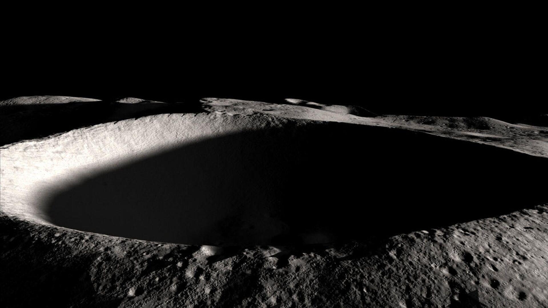 Южный полюс Луны - РИА Новости, 1920, 01.12.2020